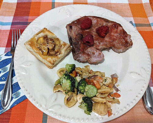 seasonal plate