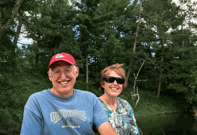 Dick and Barb Schuh protected their Mississippi riverfront property from development through a Reinvest in Minnesota easement. As of March, landowners working through the Mississippi Headwaters Habitat Corridor Project have protected 13 miles of shoreline through 10 easements and three fee-title acquisitions.