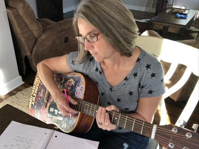 Singer, songwriter and musician Kristi Kellogg will provide songwriting workshops this fall at the Walker Library.