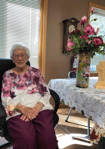 Toots Gerritsen celebrated her 100th birthday Sept. 21.