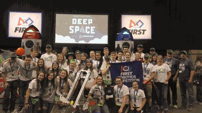 The Nevis Tech-No-Tigers Robotics Team won the Lake Superior Regional Robotics Competition March 7-9 in Duluth to earn a trip to the World Competition in Detroit April 24-27.