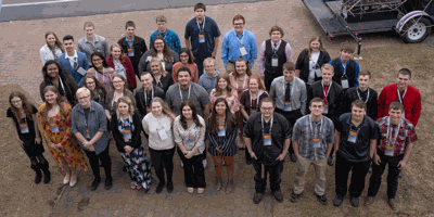Forty-three students from schools across Region 5 were honored for their behind-the-scenes impact t Sourcewell's annual Students of Character celebration.