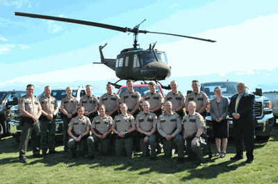 Fourteen new  Conservation Officers recently graduated from the DNR's CO Academy.