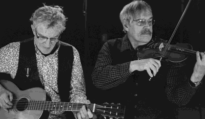 Paul Nye (left) and Jeff Menten will livestream a concert Aug. 20 beginning at 7 p.m.