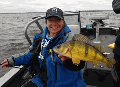 Shell Holland with a jumbo perch