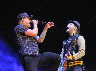 An estimated crowd of about 18,000 came to see Shinedown, which had the best and most energetic performance over the four days.