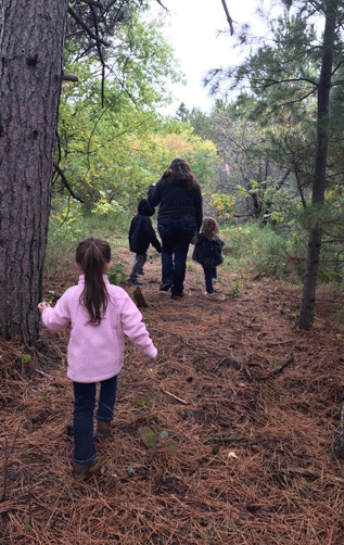 In 2019 the Central RSDP supported research on the benefits of nature-based learning and play for Leech Lake Early Childhood Development's Megwayaak Project.