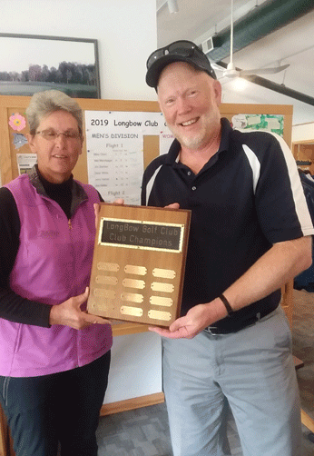 LongBow Club Champions Pat Roush and Mike Olson.