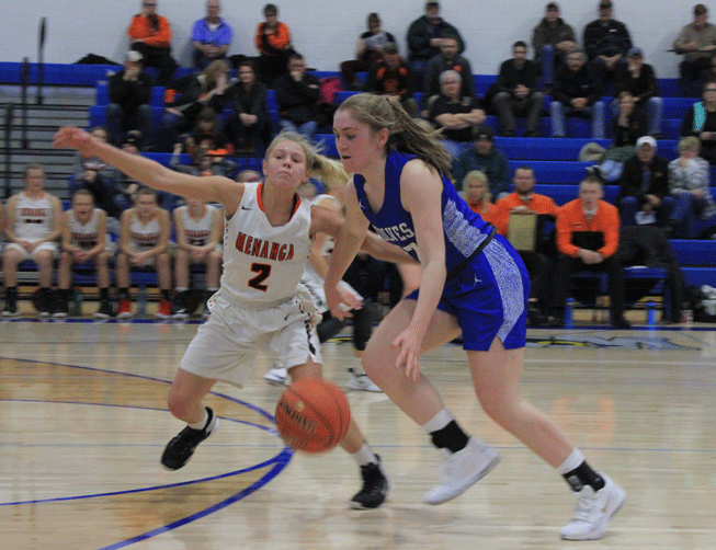 Bri Raddatz, who led all scoring with 28 points, did most of her damage by taking the ball to the hoop and scoring on lay ups.
