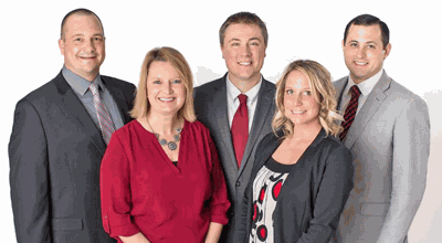 Thrivent Financial Northern Skies Group include (from left) Kyle Duclos, Jill Duclos, Brent Fassett, Laurie Goble and Ben Schrader.