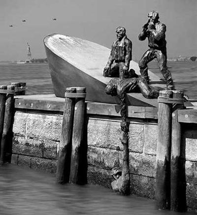 The Merchant Mariner Memorial located in New York City