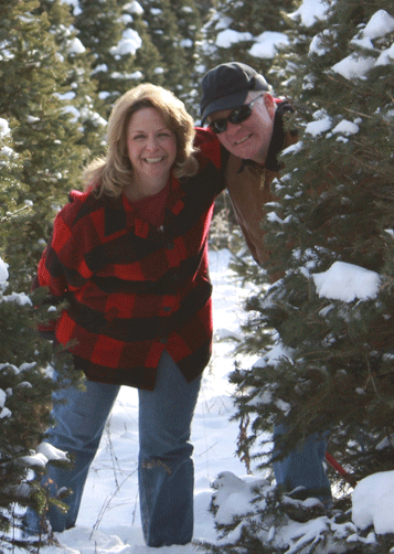Kathy and Brad Barker in 2017. Kathy was born April 24, 1955, and passed away Nov. 12, 2017.