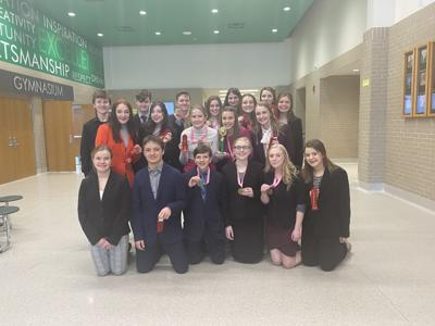 The Walker Talkers took third place and brought home 16 medals and ribbons from the East Grand Forks Speech Meet last Friday.