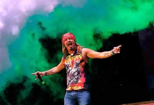 Thursday night closer Bret Michaels performed in front of a crowd of more than 16,000 jammers.