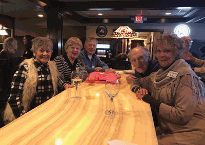 Several people attended the Leech Lake Chamber of Commerce-sponsored event as everyone had a great time.