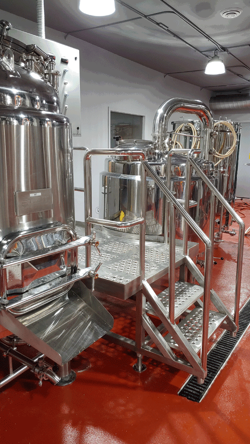 Rendezvous Brewing currently produces several types of beer for customers to enjoy with other brews still fermenting.