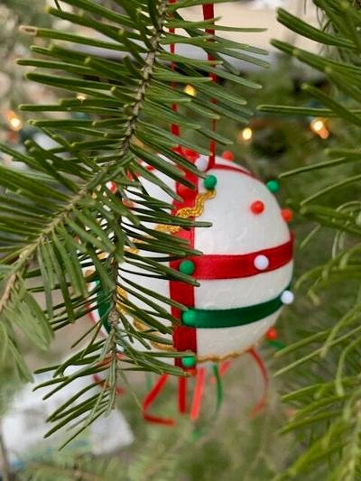 The owner of the pictured ornament is asked to contact the Chamber at (218) 547-1313 to claim their prize. Photo submitted