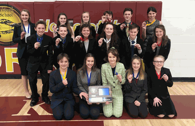 The Walker Talkers placed first overall at the Subsection 29A Speech Meet and brought home 16 individual medals.