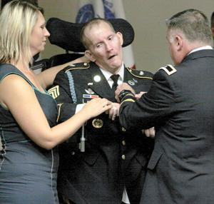 Retiring master sergeant