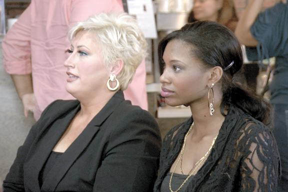 796e2357f1d41 Alexis Houston and Kim Gravel from  quot Kim of Queens quot ...