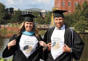 Mother, Son Graduate Together