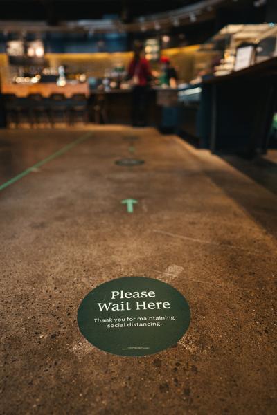 Starbucks Distancing