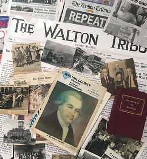 <p>A collection of memorabilia shows just a sampling of the history of Walton County on its 200th birthday.</p>