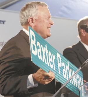 Gov. Deal welcomes Baxter