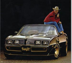 <p>The Pontiac Trans Am that Burt Reynolds drove in 'Smokey and the Bandit' sold for $450,000.</p>