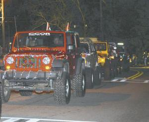 Jeeps for a holiday cause, events