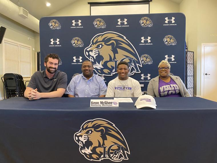 Keon McGhee becomes a Panther