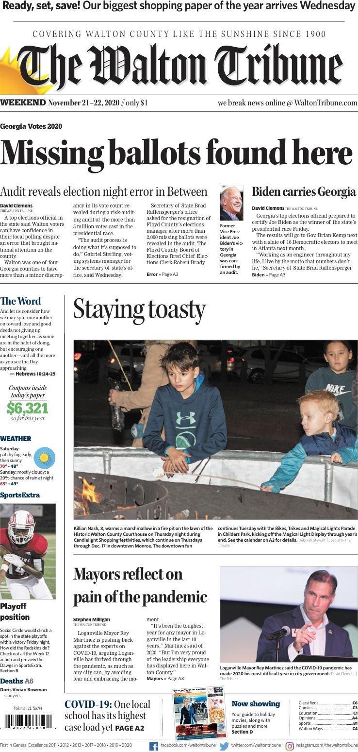 Walton Tribune Weekend Nov. 21-22, 2020