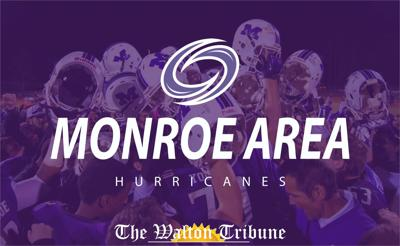 Monroe Area Sports Stock Photo web card