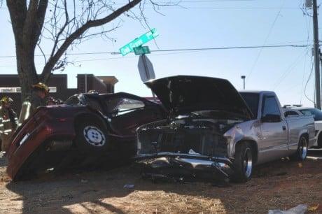 Wreck in Loganville