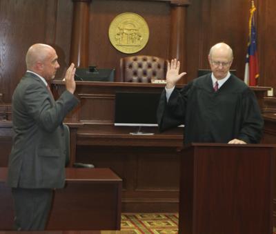 McGinley Sworn In