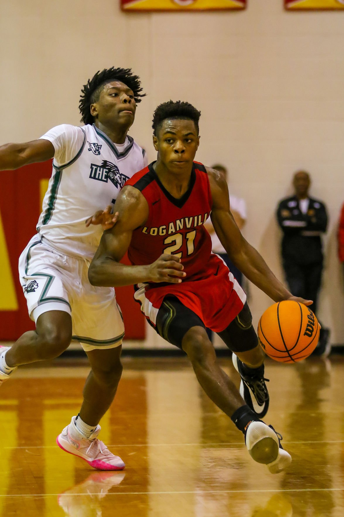 Sheldon Arnold vs Walnut Grove Basketball Region 8-AAAAA tournament