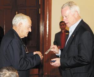 Rep. Broun awards Good Hope resident Harold Sheriff