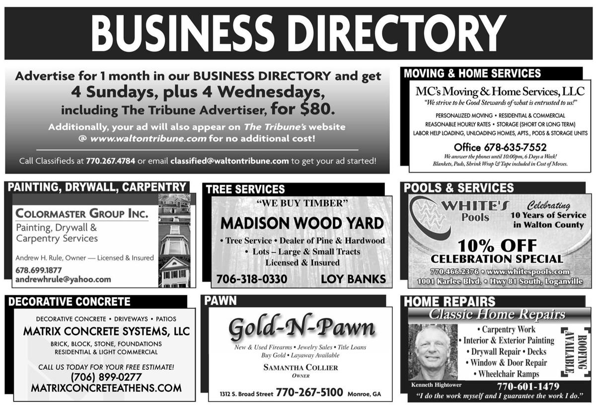 July 12 Business Directory