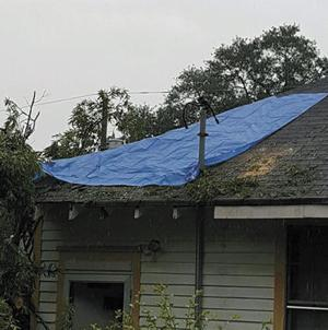 Storm Causes Damage