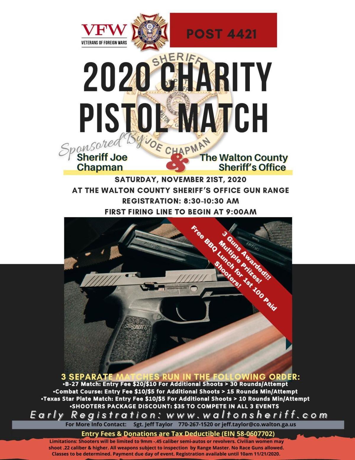 2020 Charity Pistol Match