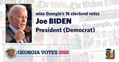 Joe Biden Carries Georgia