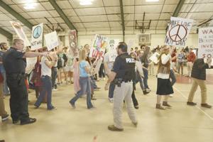 GWA mock protest