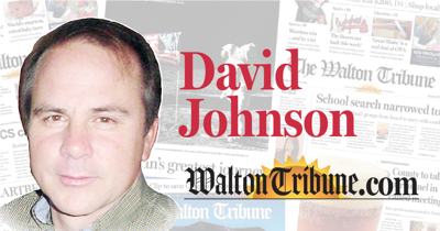 David Johnson Column mug Teaser