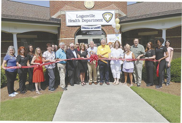 Health Department Ribbon Cutting
