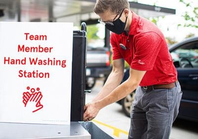 Chick-fil-A Handwashing Station