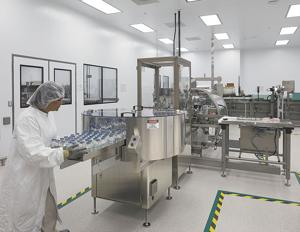 <p>Technicians work at Takeda's state-of-the-art pharmaceutical plant in Stanton Springs Industrial Park, which opened in 2012 under the name Baxter International. Facebook started building a data center in the park in 2018.</p>