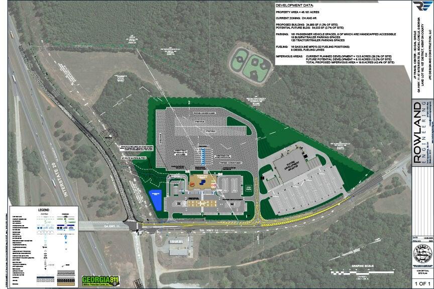Proposed Travel Center