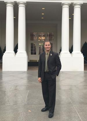 Martinez at White House