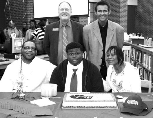 Martin signs with Campbellsville
