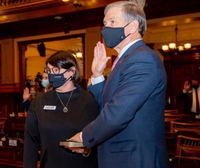 Williamson Takes Oath